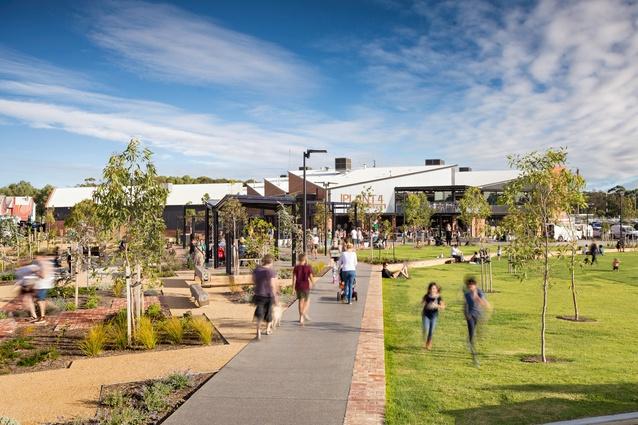 Bowden Main Park by Aspect Studios.