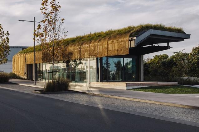 Te Kaitaka 'The Cloak' by Fearon Hay Architects.