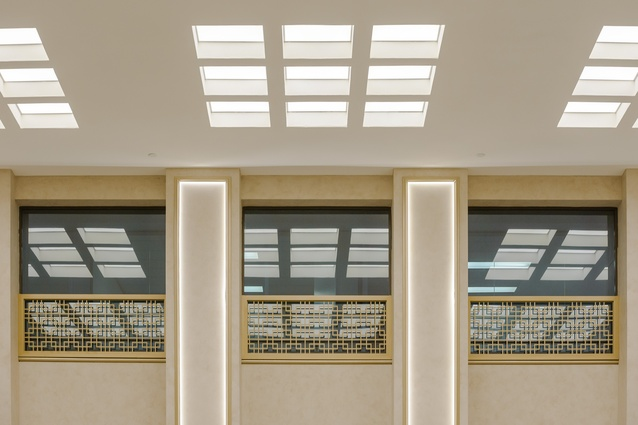 The new USG Boral Ensemble monolithic acoustical ceiling system was installed in Chancery House, Perth as part of a refurbishment by Oldfield Knott Architects.