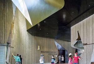 Waltzing Matilda Centre by Cox Architecture.