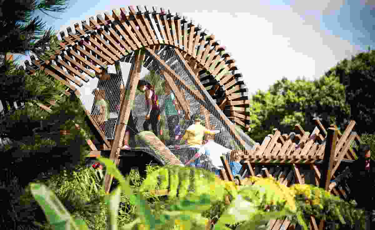 The Ian Potter Children's Wild Play Garden by Aspect Studios (NSW), award winner in the Urban Planning/Landscape Architecture category.