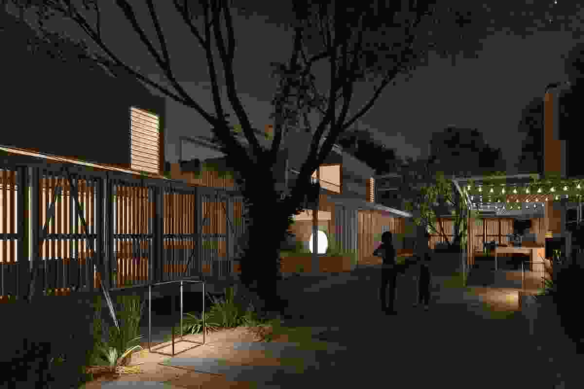 Concept Spaces Fremantle housing by Philip Stejskal Architecture.