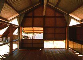 Marika-Alderton House, Yirrakala, East Arnhem Land, 1991-94. Image: Glenn Murcutt.