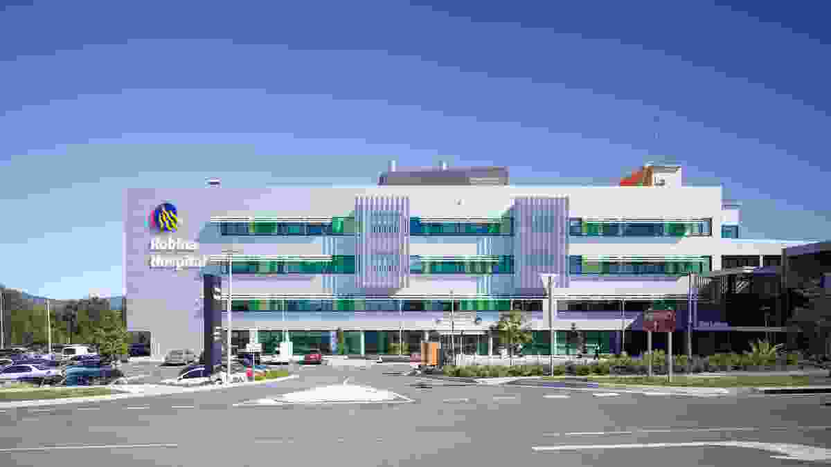 Robina Hospital expansion by BVN Architecture.