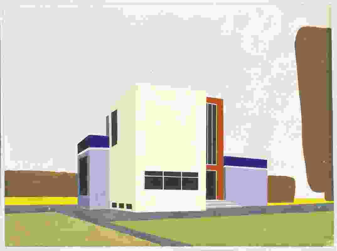Iwao Yamawaki, Bauhaus Building, Dessau, 1930-32.