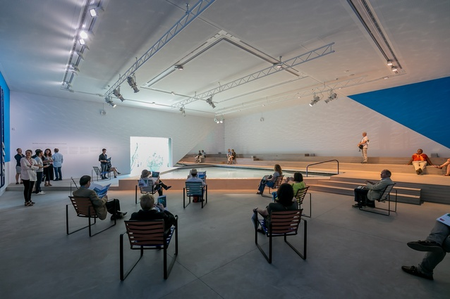 <i>The Pool: Architecture, Culture and Identity,</i> exhibition by Aileen Sage Architects (Isabelle Toland and Amelia Holliday) with Michelle Tabet, commissioned for the Australian Pavilion by the Australian Institute of Architects.