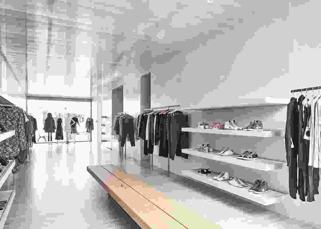 Love Story Shop II by MORQ Architecture.