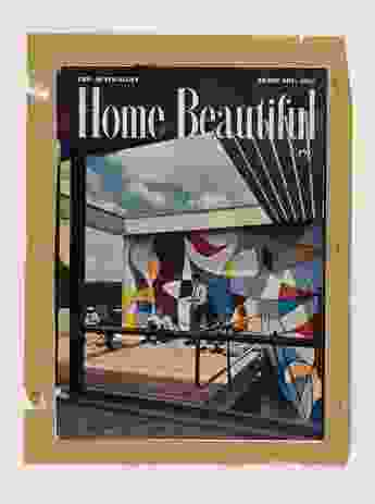 Home Beautiful, featuring the Rose Seidler House on its cover, February 1951.
