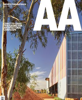 Architecture Australia, January 2017