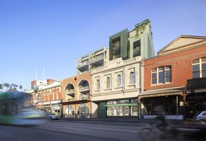 Six Degrees' The Two Eleven Sydney Road project will sit next to Austin Maynard Architects' upcoming Nightingale 3 project