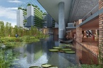 WOHA awarded sustainability prize for Bangladeshi university floating on a polluted swamp