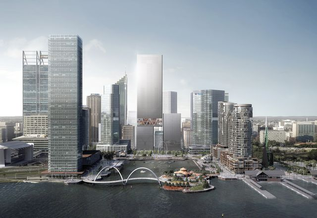 Elizabeth Quay Lots 5 and 6 by Rex and Hassell.