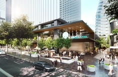 Concept for North Sydney tower-over-station development approved