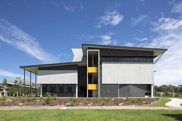 The University of the Sunshine Coast Collaborative Futures Building by Hassell.