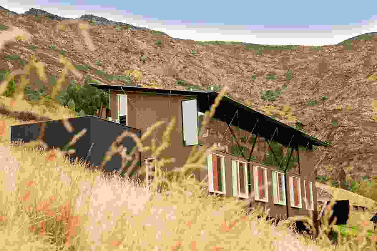 Small Project Architecture finalist: Lyttelton Studio Retreat by Bull O'Sullivan Architects.