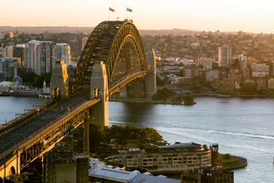 The Sydney Harbour Bridge has just celebrated its 85th birthday.