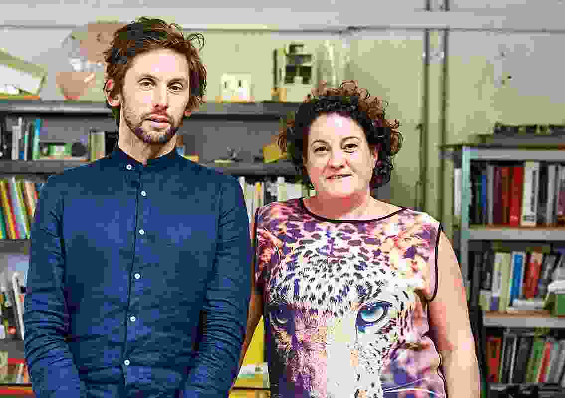 Edwards Moore co-founders Ben Edwards and Juliet Moore. Juliet is now the sole director of the practice, while Ben runs Studio Edwards.