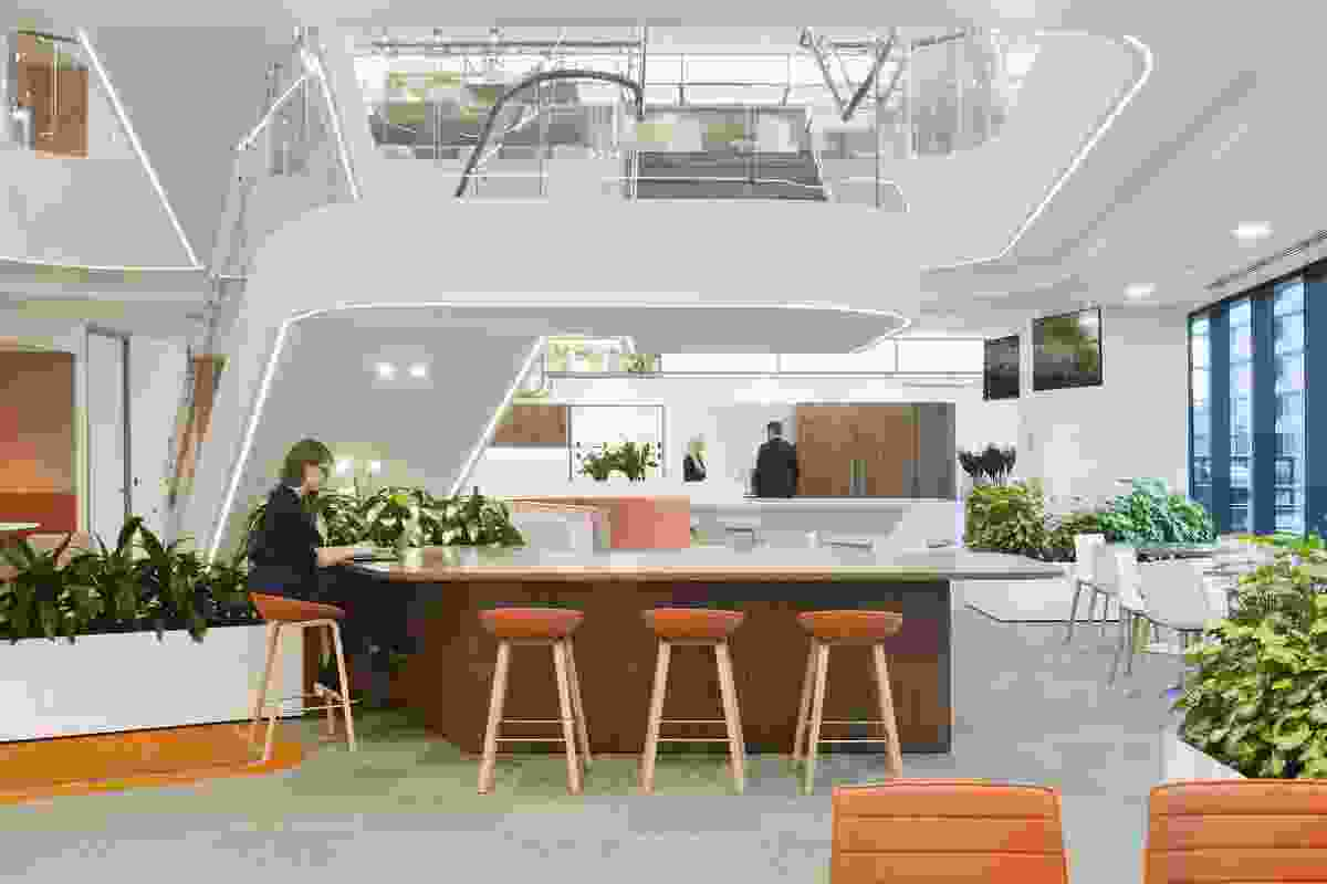 Jemena Melbourne Workplace by Woods Bagot