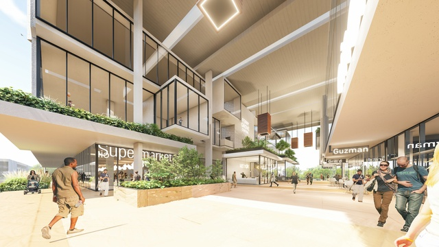 Bureau proberts designs transit oriented development for brisbane