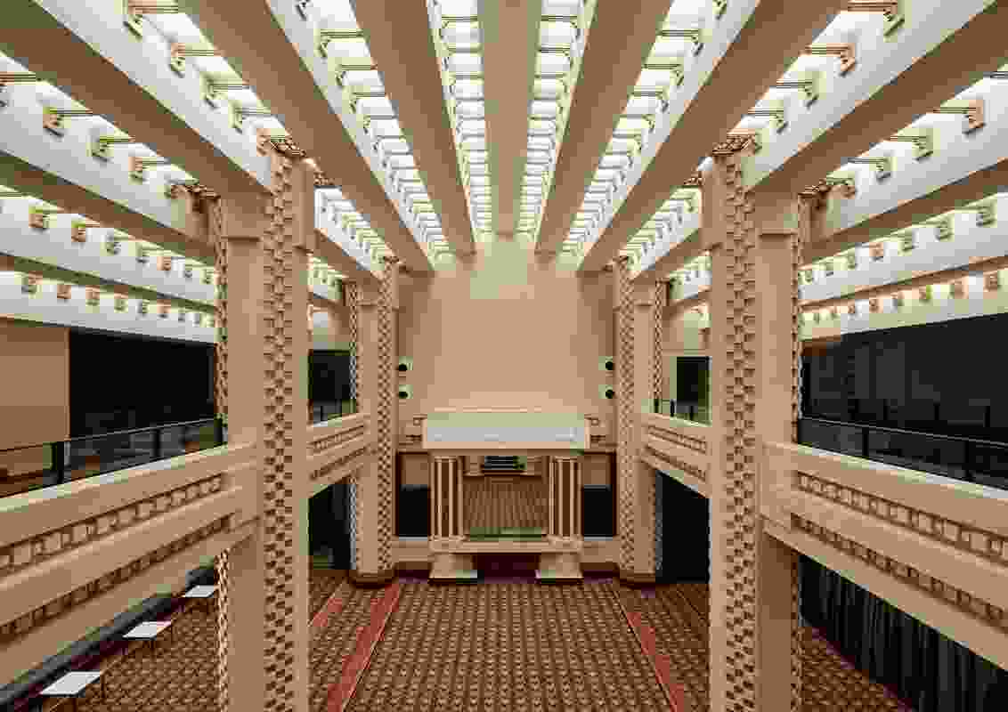 Commendation for Interior Architecture: RMIT Capitol Theatre by Six Degrees Architects.