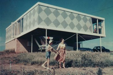 Robin Boyd's 1954 Marriott House, Flinders.