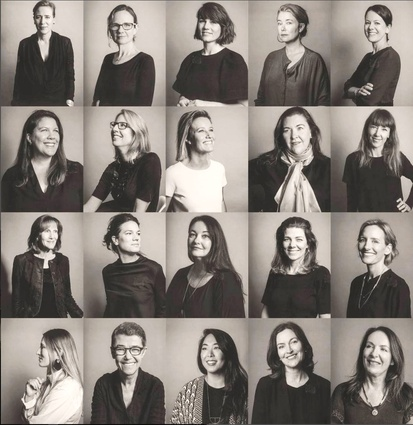 The architects featured in <i>Chasing the Sky: 20 Stories of Women in Architecture</i>.