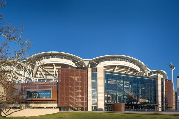 Adelaide Oval Redevelopment (SA) by Cox Architecture, Walter Brooke and Hames Sharley.