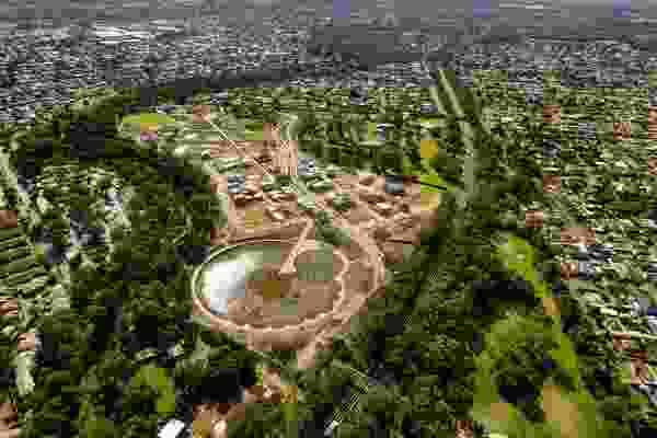 Lochiel Park, where the winning design will be built.