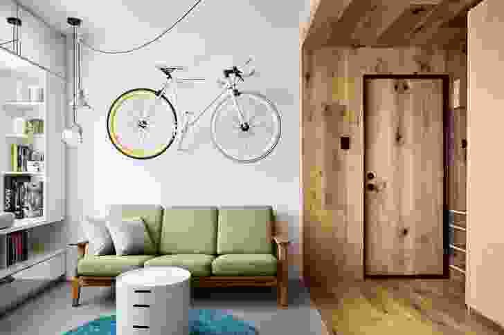 Type Street Apartment by Tsai Design.