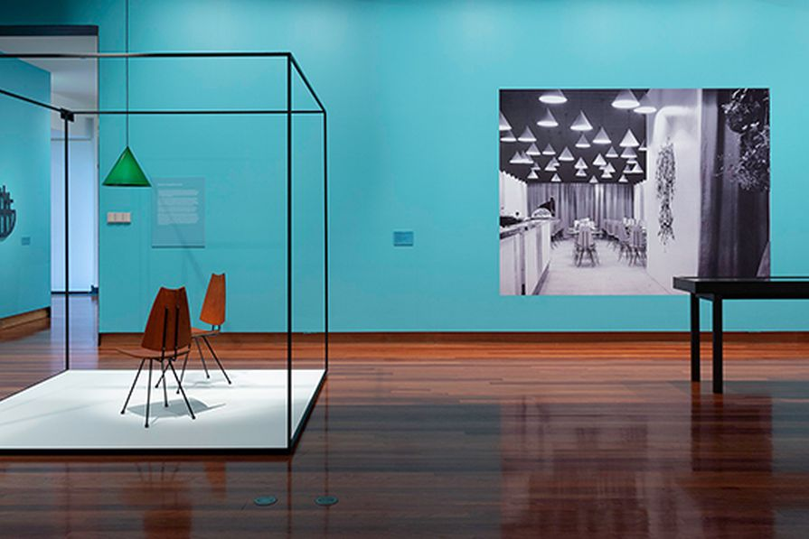 The Clement Meadmore: The art of mid-century design exhibition at the Ian Potter Museum of Art at the University of Melbourne.