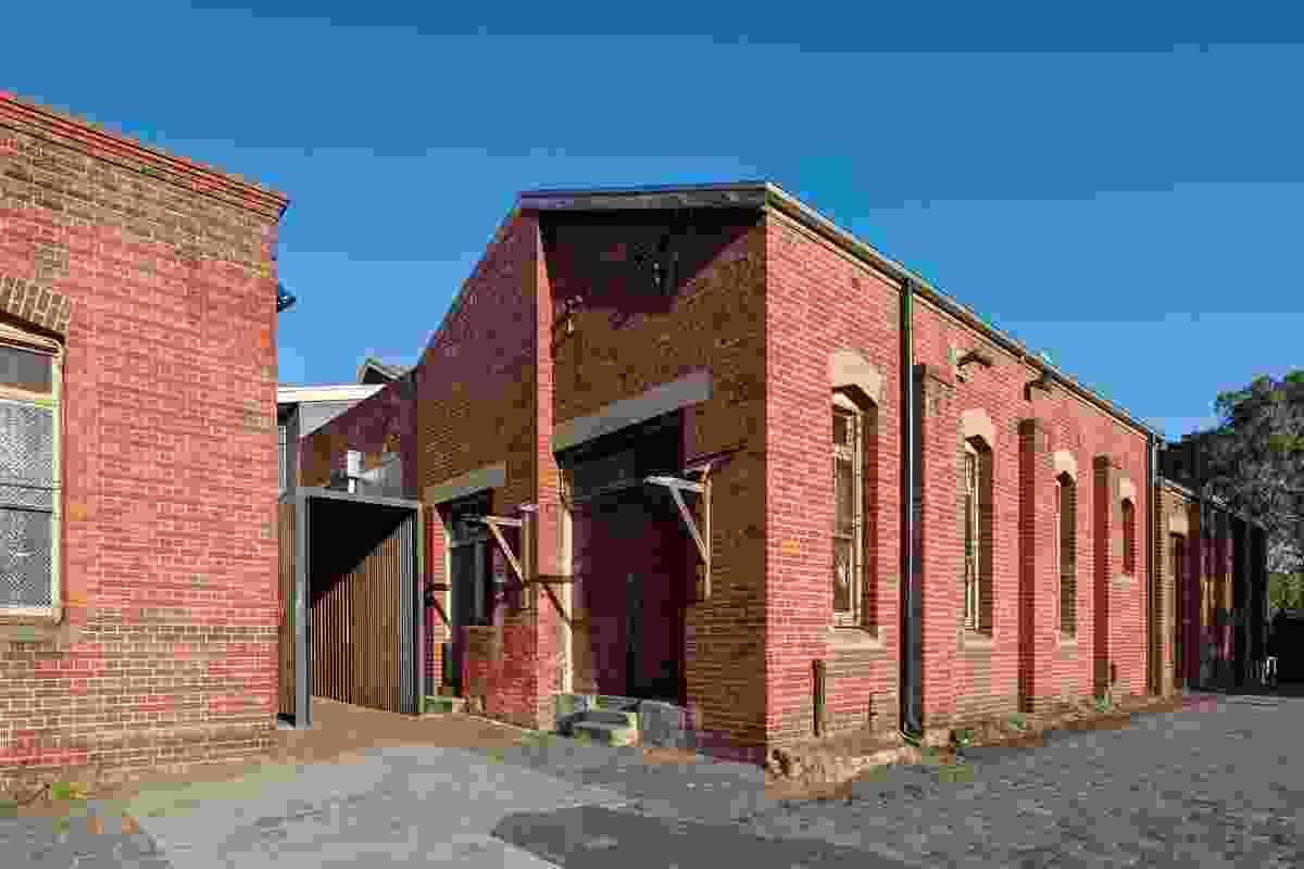 Abbotsford Convent Breezeway by Jackson Clements Burrows.