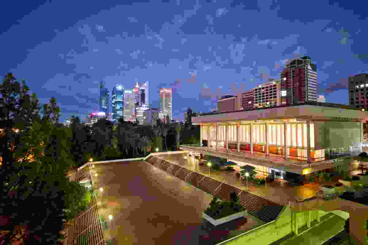 Perth Concert Hall by Howlett and Bailey will be open as part of Open House Perth 2013.