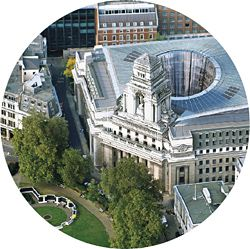 Proposal for 10 Trinity Square, London, Woods Bagot.