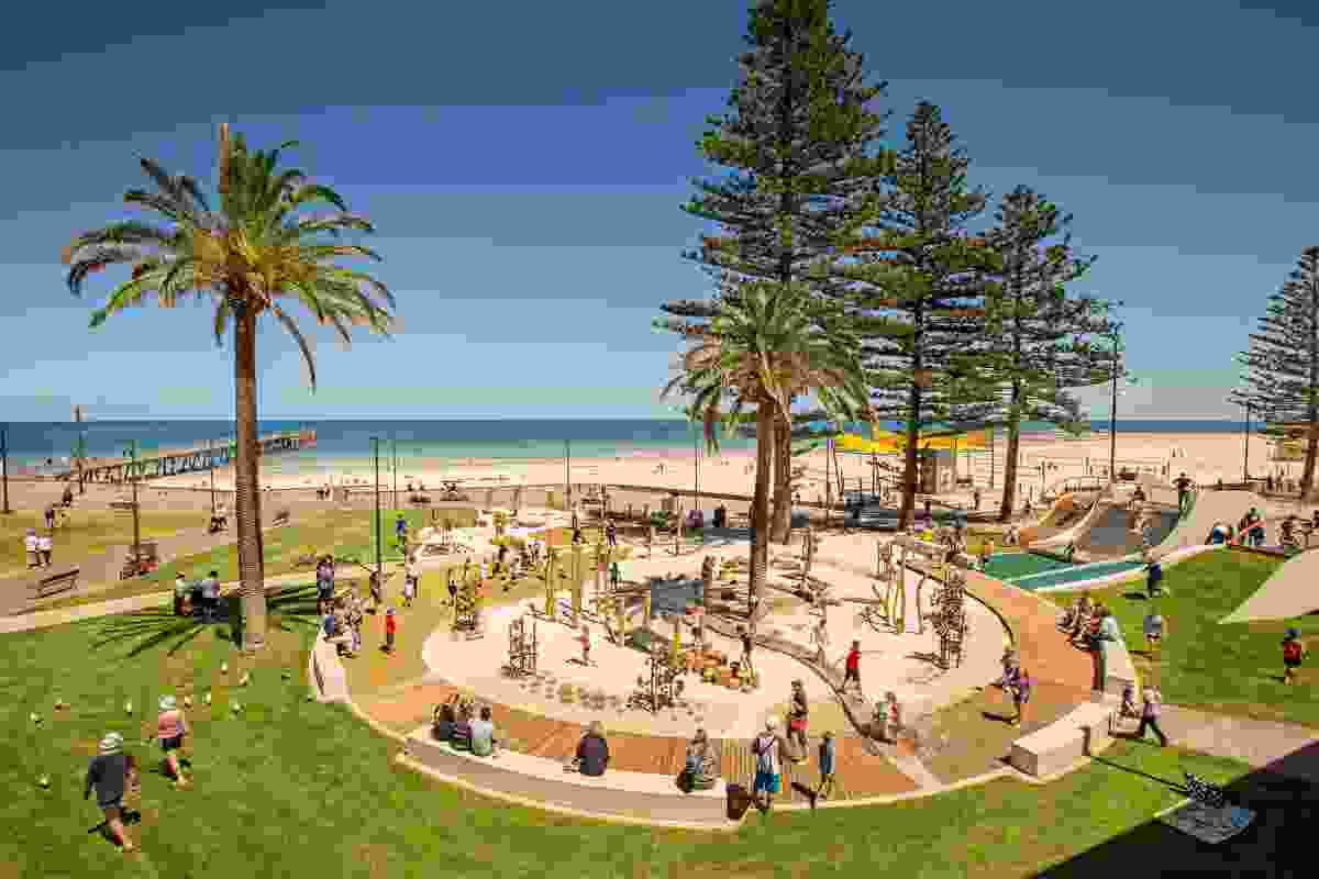Glenelg Foreshore Playspace by Wax Design.