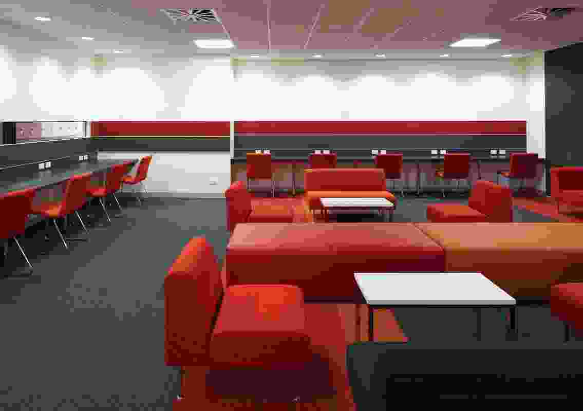 Colour in Commercial Design – Barwon Health TTR by Billard Leece Partnership / Tonya Hinde Interior Design.