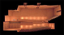 """ARM's project for the Melbourne Recital Centre houses the """"precious"""" chamber within the """"packaging"""" of the building."""