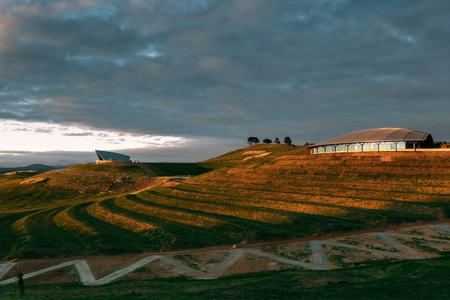 Village Centre: National Arboretum Canberra by Tonkin Zulaikha Greer.