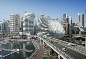 The Ribbon by Hassell architects will transform the Darling Harbour precinct.