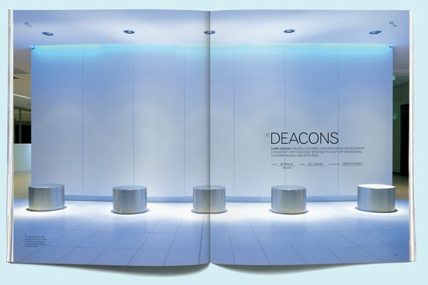 Deacons (now Norton Rose) by Carr Design Group, Brisbane (from Artichoke 3).