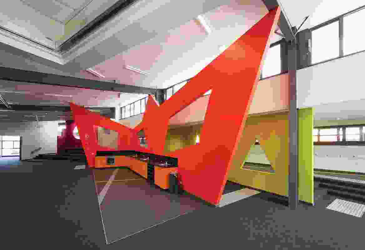 Colour in Commercial Design – St Brendan's Primary School by V Arc.
