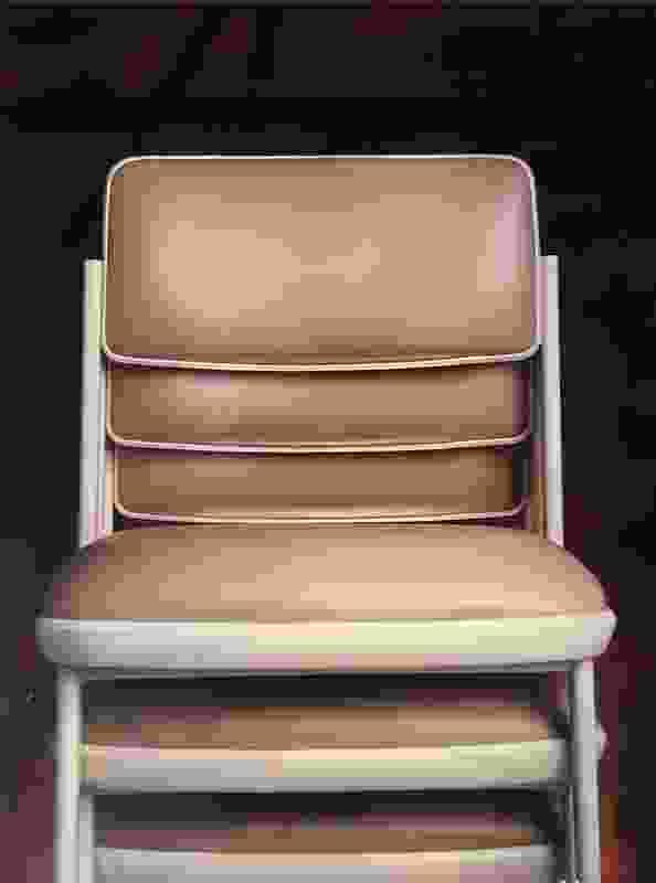Optima chair designed in 1972 by Nielsen Design Associates for Sebel.