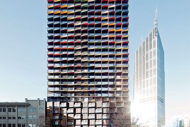 A'Beckett Tower by Elenberg Fraser.