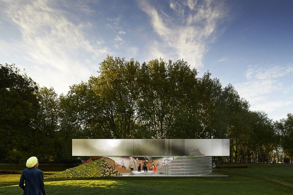 The 2017 MPavilion by Rem Koolhaas and David Gianotten of OMA.