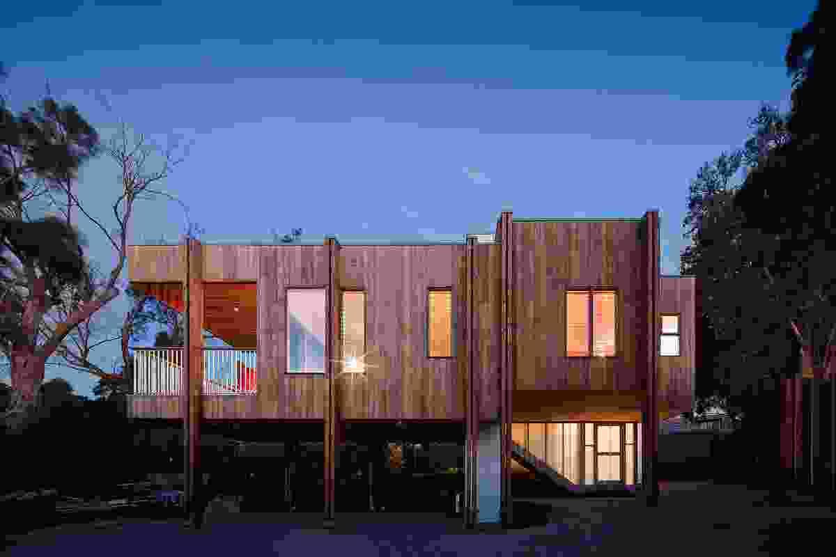 Beach House - Mornington by Clare Cousins Architects.
