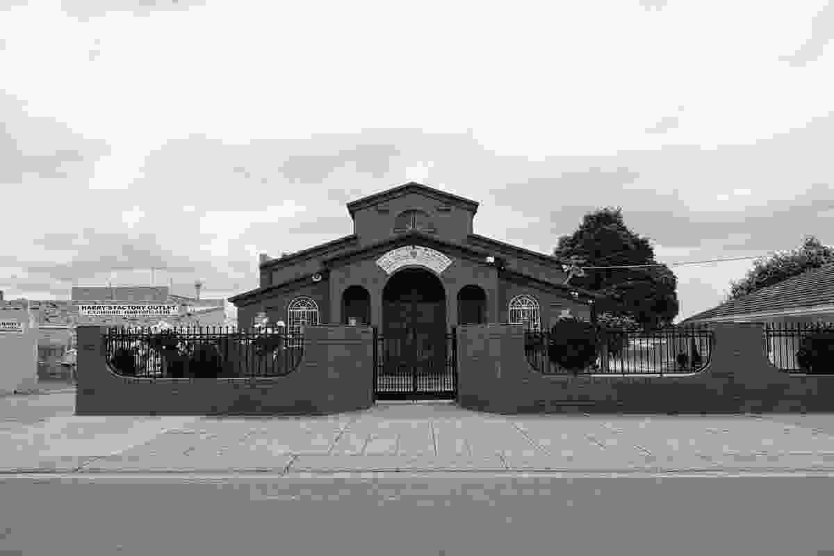 Greek Orthodox Church of the Three Holy Hierarchs on Knight Street.