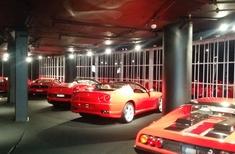 Australian Trellis Door Company's security screens installed at Ferrari Showroom