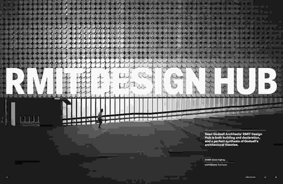 RMIT Design Hub by Sean Godsell Architects.