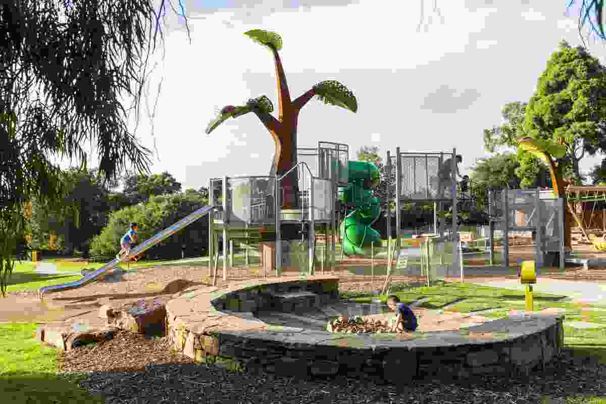 George Pentland Botanic Gardens playspace by Leaf Design Studio won a Landscape Architecture Award in the Play Spaces category.