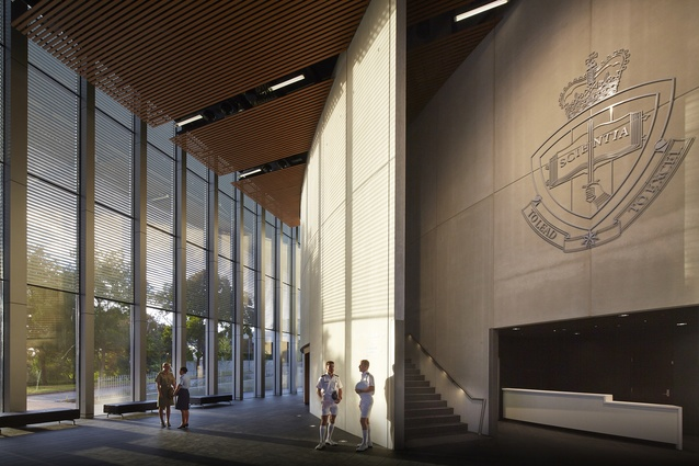 Australian Defence Force Academy – Auditorium by HDR | Rice Daubney.