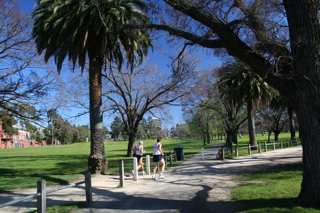Princes Park Carlton North.